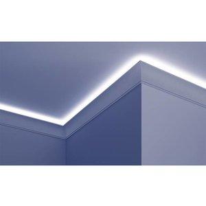 Grand Decor PU - LED sierlijst voor indirecte verlichting, KF704 (100 x 50 mm), lengte 2 m
