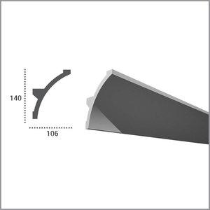Grand Decor PU - LED sierlijst voor indirecte verlichting, KF708 (140 x 106 mm), lengte 2 m
