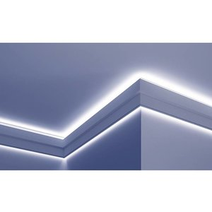 Grand Decor PU - LED sierlijst voor indirecte verlichting, KF709 (150 x 40 mm), lengte 2 m