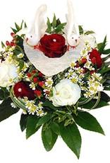 flotte Blumen Hochzeit-Strauss