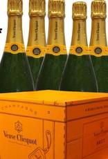 Veuve Clicquot Champagner Brut Carte Jaune Partypaket mit 6 Flaschen