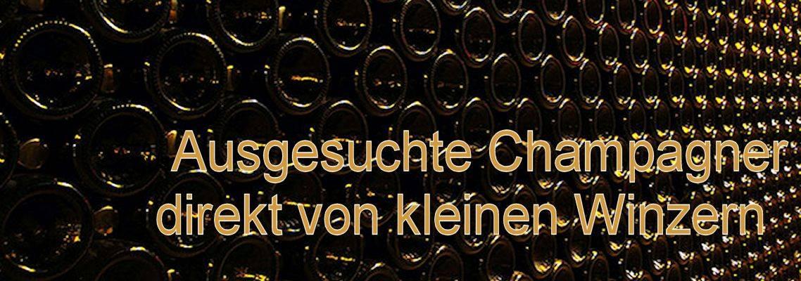 ausgesuchte Champagner  direkt vom Winzer