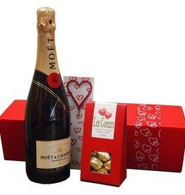 Moet & Chandon Champagner Geschenkset von Herzen