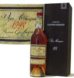 Baron Gaston Legrand Armagnac Jahrgang 1998