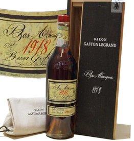 Baron Gaston Legrand Armagnac Jahrgang 1978