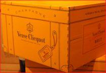 Champagner aus dem Haus Veuve Clicquot in Reims
