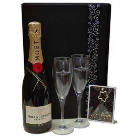 Moet & Chandon Champagner Glückwunsch Geschenkpaket