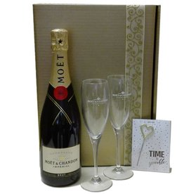 Moet & Chandon Champagner time to sparkle - Geschenkpaket