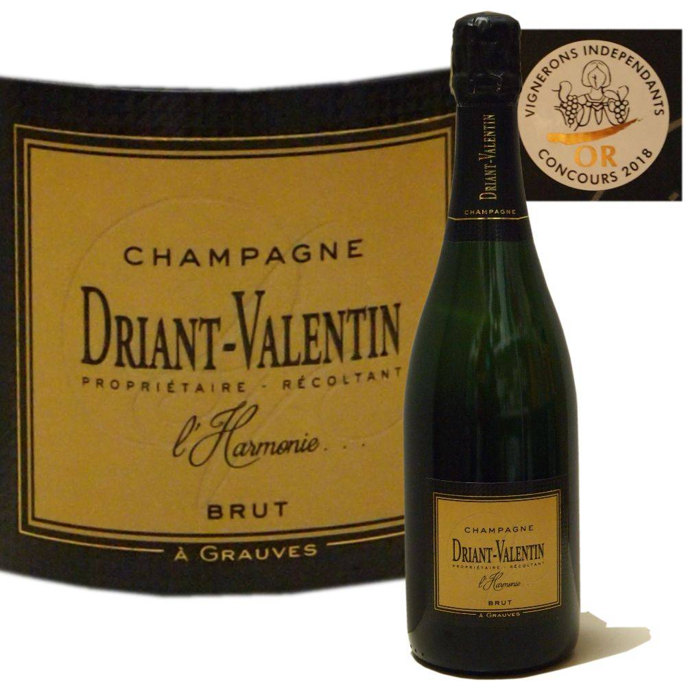 Driant-Valentin Champagner ausgewogener Champagner mit Goldmedaille Concours Vignerons independants 2018