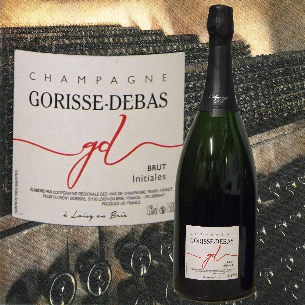 Gorisse-Debas Champagner Magnum Brut