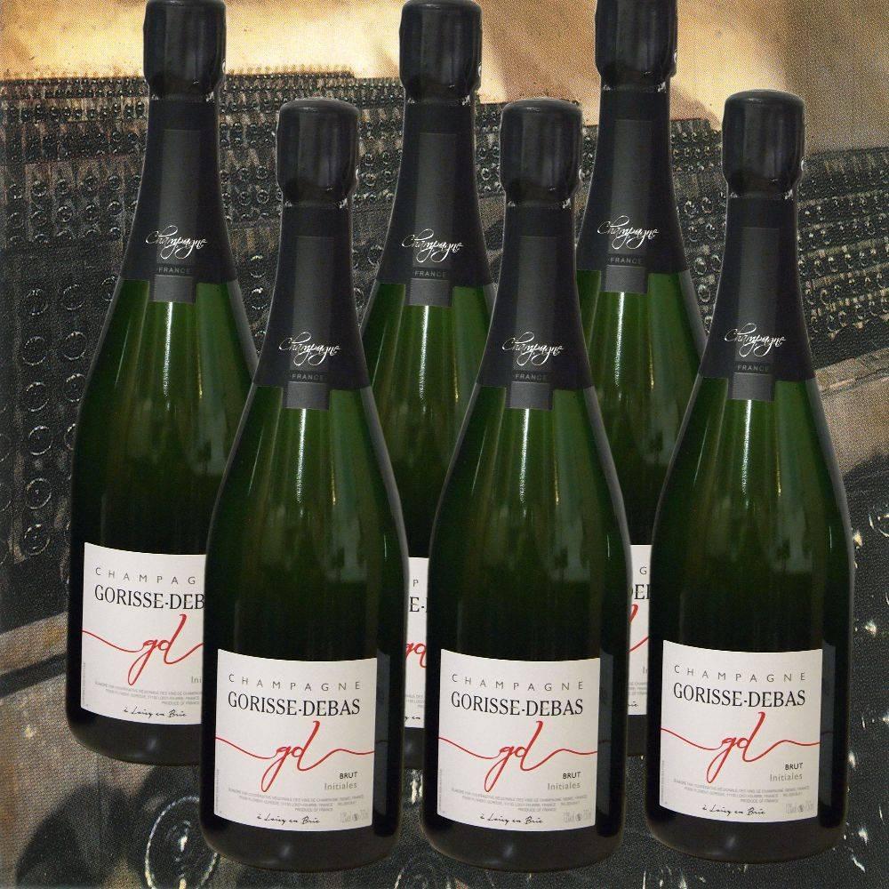 Gorisse-Debas Champagner 6 Flaschen Partypaket