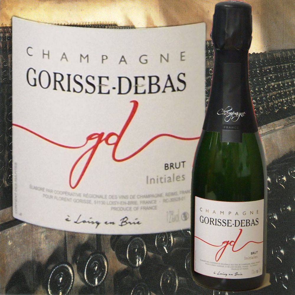 Gorisse-Debas Champagner Brut klein 0,375 l