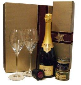 Krug Champagner Grande Cuvée  - Genießerpaket