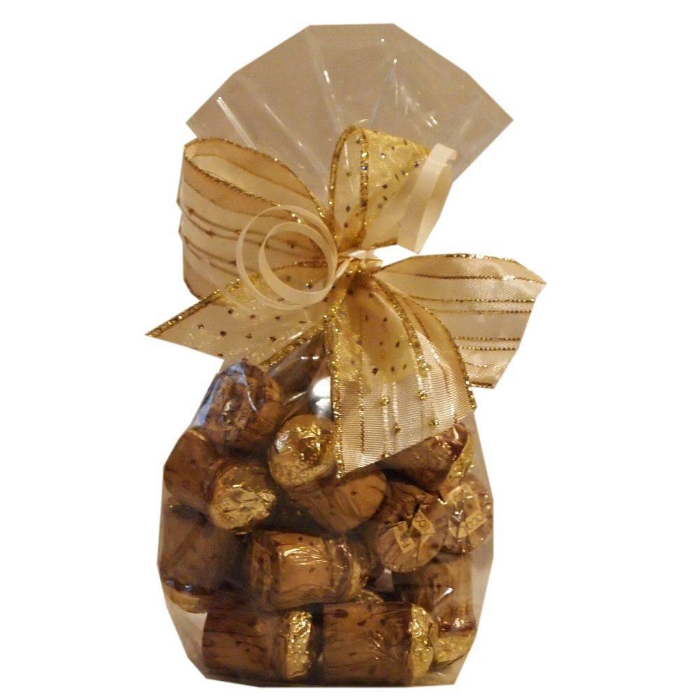 Chocogil Pralinenkorken gefüllt mit Marc de Champagne