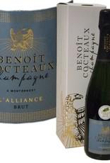 Benoît Cocteaux ausgezeichneter Champagner mit Goldmedaille Concours Vignerons independants 2017