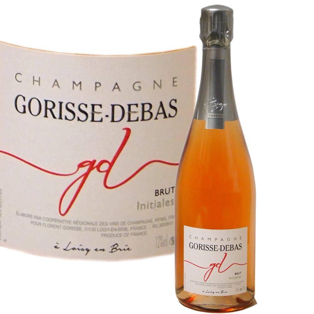 Gorisse-Debas Champagner fruchtiger Rosé direkt vom Winzer