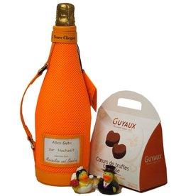 Veuve Clicquot Champagner in Hochzeitslaune