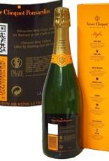 Veuve Clicquot Champagner Brut Carte Jaune in Geschenkpackung