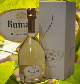 Ruinart Champagner Blanc de Blancs in raffinerter Geschenkbox