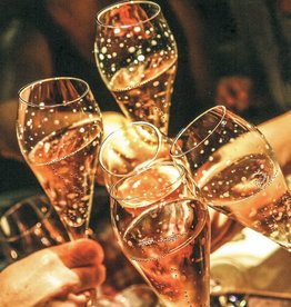 Karte Champagnergläser