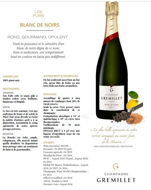 Gremillet Champagner Blanc de Noirs