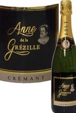 Anne de la Grézille Crémant de Loire brut mit Geschenkkarton fröhliche Weihnachten