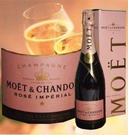 Moet & Chandon Champagner Rosé brut Impérial in Geschenkpackung