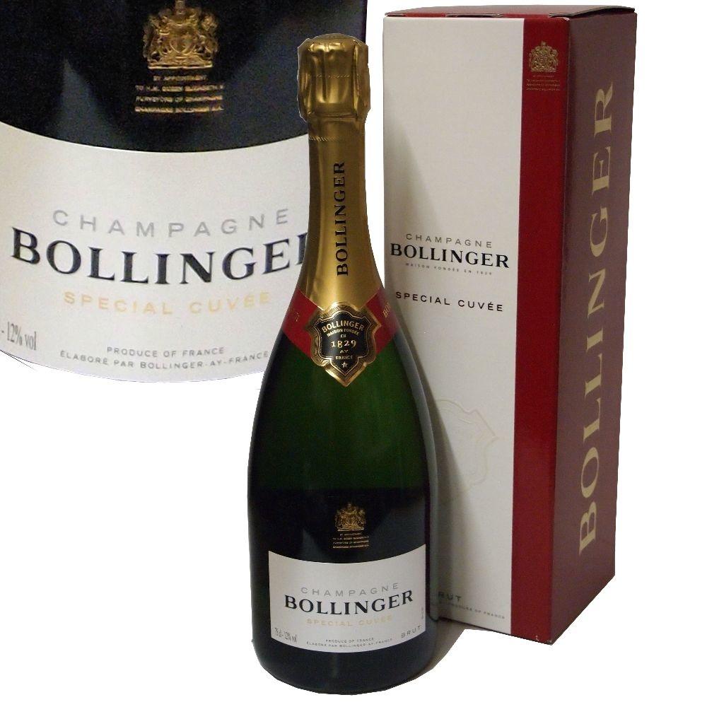 Champagne Bollinger Special Cuvée im Geschenkkarton