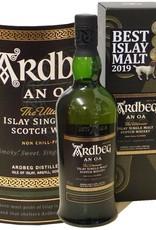 Whisky Ardbeg  Islay Single Malt An Oa in Geschenkpackung