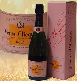 Veuve Clicquot Champagner Rosé in Geschenkpackung