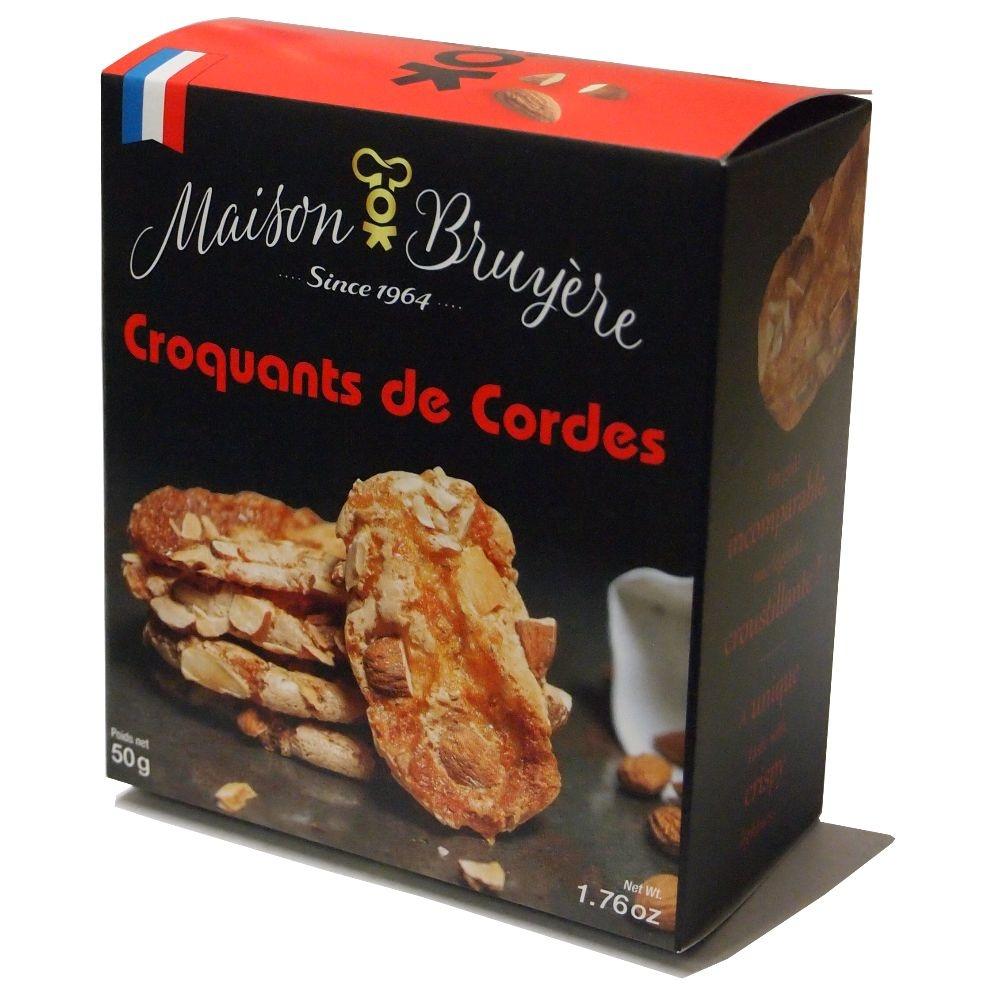 Maison Bruyère Biscuits Croquants de Cordes in der 50 g Packung