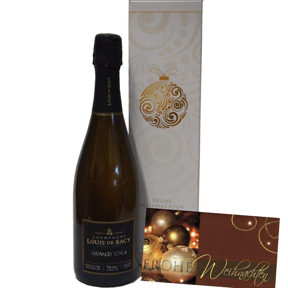 Louis de Sacy Champagner Grand Cru Champagner zu Weihnachten verschicken lassen
