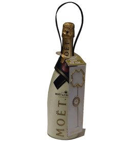 Moet & Chandon Champagner Brut Imperial im Thermosuit mit Happy New Year-Wunderkerze