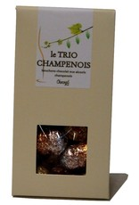 Chocogil Pralinenkorken gefüllt mit Marc de Champagne  - Fine de la Marne und Ratafia