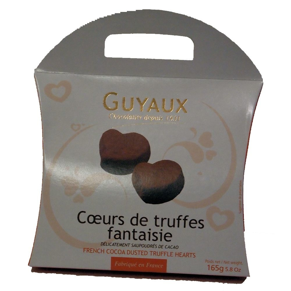 Chocolaterie Guyaux Truffes Fantaisie in Herzform Chocolaterie Guyaux