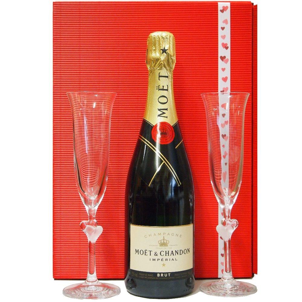 Moet & Chandon Champagner Prickelnde Glückwünsche zur Hochzeit Moet & Chandon - Geschenkbox