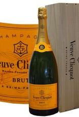 Veuve Clicquot Champagner 3 Liter Großflasche in der Holzkiste