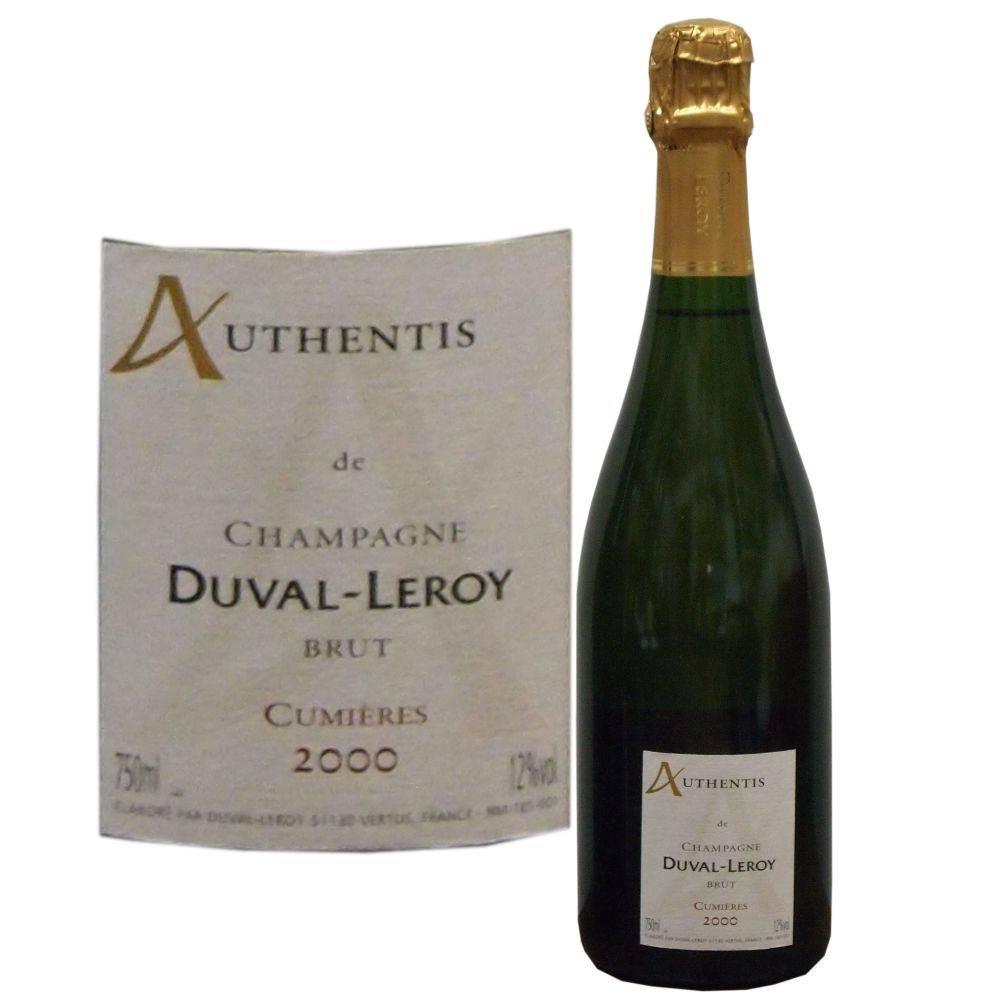 Duval-Leroy Champagner Jahrgangschampagner 2000 aus einem speziellen Anbaugebiet