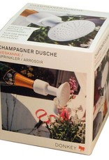 Donkey Champagnerdusche- Gießaufsatz für die leere Champagnerflasche