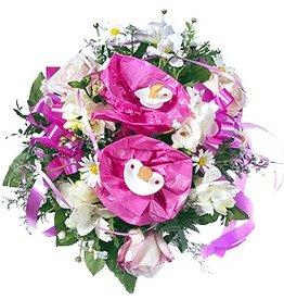 flotte Blumen Strauß Baby Lea
