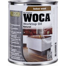 Woca Worktop Oil (Natural, White, Gray or Black - click here)