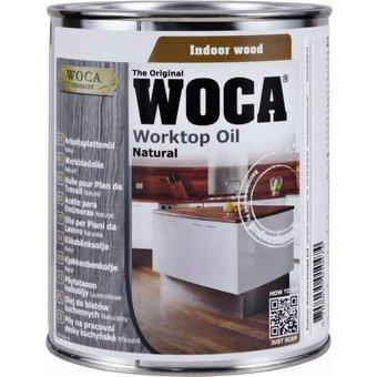 Woca Worktop Oil (Natural, White, Gray or Black)