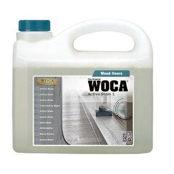 Woca Houtloog Active Stain Inhoud 2,5 Ltr.