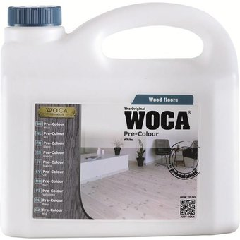 Woca Pre Color (Impregnation Stain) BLACK 2.5 Ltr