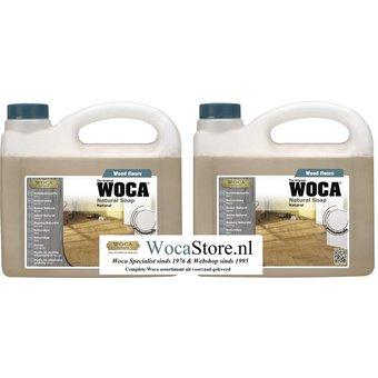 Woca 2x 2,5 ltr Natural Soap ACTION