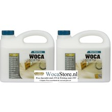 Woca Natural Soap WHITE ACTION 2x2,5 Ltr