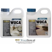 Woca Natural Soap and Maintenance Oil WHITE  -ACTION-