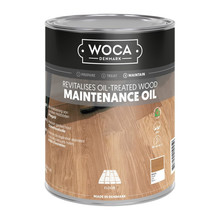 Woca Maintenance Oil WHITE (1 or 2.5 Liter click here) ..