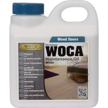 Woca Maintenance oil WHITE (click here for content)