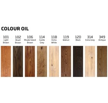 Trial bags Color oil inside